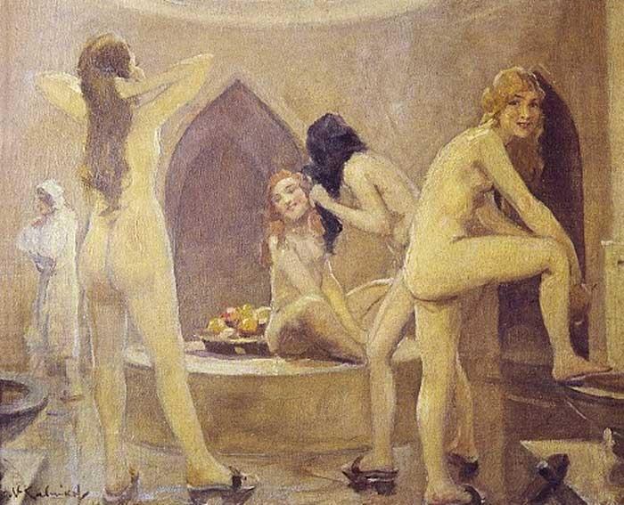 Фото Женщины в бане.